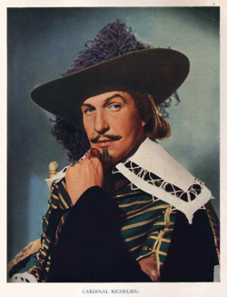 Vincent Price as Richelieu